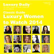 Luxury Women to Watch 2014 Cover 185x185