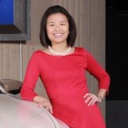 Melody Lee of Cadillac  © General Motors.