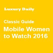 Luxury Women to Watch 2016