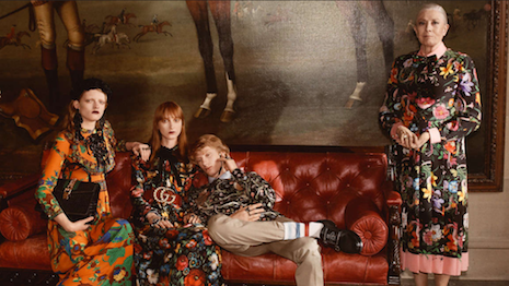 Gucci's campaigns, such as the Cruise 2017, regularly push boundaries and bridge cultures and generations