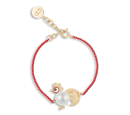 Mr. Bags said Dior's rooster bracelet is an improvement from last year's similar style for the year of the monkey