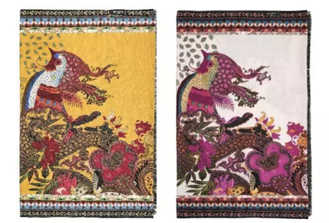 ETRO opted for a phoenix shawl to celebrate the year of the rooster, confusing some commenters