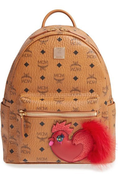 MCM released a special-edition collection of bags with roosters for Chinese New Year