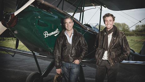 Brothers Nick and Giles English in 2002 launched Bremont as a luxury maker of crafted pilot's watches with manufacturing at Henley on Thames in England. Image credit: Bremont