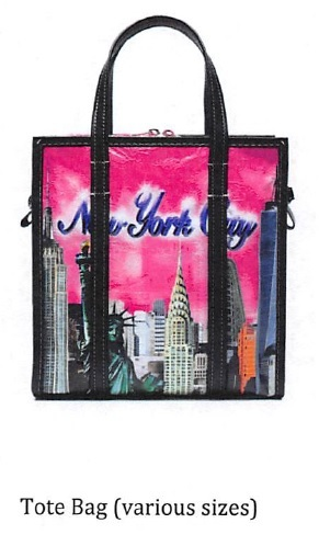 Balenciaga's tote bag with the New York skyline design
