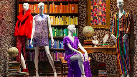 Saks Fifth Avenue goes for the maximilist look. Image credit: Saks Fifth Avenue