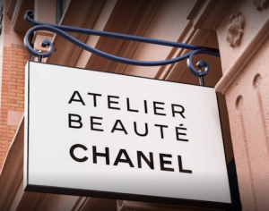 Atelier Beauté Chanel hangs out its shingle in New York's SoHo, an area quite popular with millennials and Gen Z shoppers. Image credit: Chanel