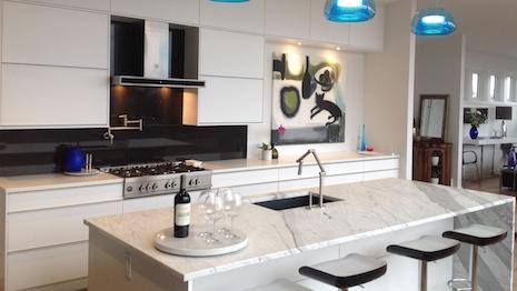 Art in the kitchen: Bertazzoni range. Designed by Hermann De Oliveira. Image credit: Bertazzoni