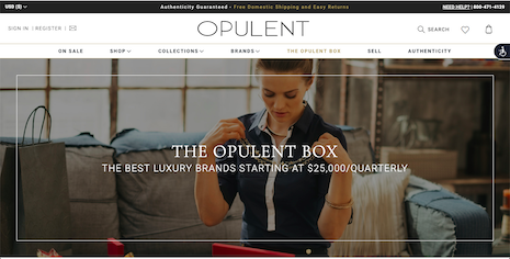 Consumers signed up to Opulent's subscription box can get jewelry from brands such as Tiffany, Cartier and Chopard each quarter for $25,000. Image credit: Opulent
