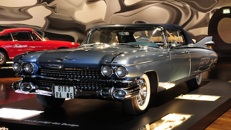 The 1959 Cadillac Eldorado Biarritz in all its glory at a German auto show. Image credit and copyright: Ralf Roletschek
