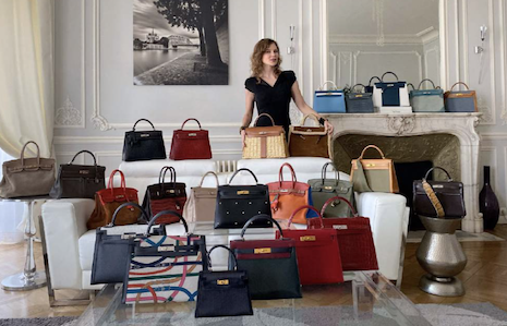 Secondhand handbag sales increase among ultra wealthy, per Knight Frank report. Image courtesy of Knight Frank