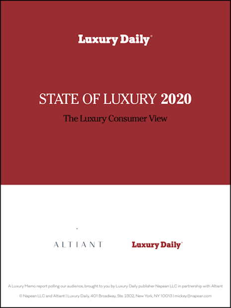 State of Luxury 2020 The Luxury Consumer View