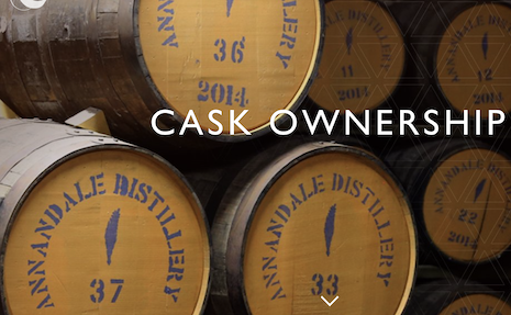 Annandale Distillery Cask ownership. Image credit: Annandale Distillery