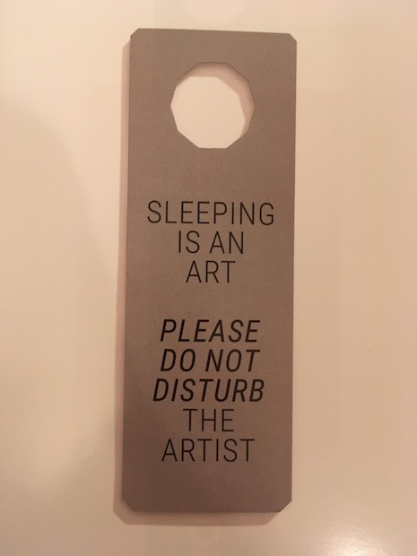 Do Not Disturb from F**K Art Let's Dance