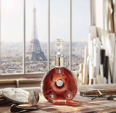 Louis XIII Time Collection 1900 City of Lights. Image credit: Louis XIII