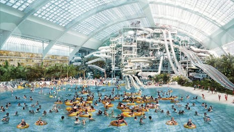 Costing $5 billion to build, the American Dream mall opened last fall in New Jersey's Meadowlands, only 10 miles from Manhattan. Image credit: American Dream