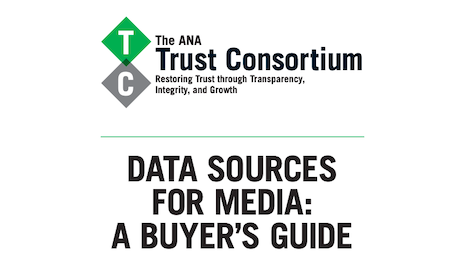 """ANA's """"Data Sources for Media: A Buyer's Guide"""""""
