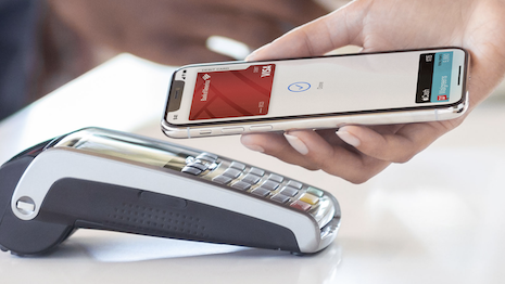 Apple Pay allows contactless payments to avoid the spread of germs. Image credit: Apple