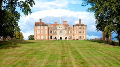 It seems that the COVID-19 pandemic has made country houses and embracing the God-KIng-and-country lifestyle more appealing for those who need space and social distancing. Image of Nuffield Hall, credit: Knight Frank