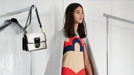 Louis Vuitton's cruise 2021 collection is playful in its presentation on Instagram, which substituted for a live runway presentation as travel restrictions persist for fashion industry executives. Image courtesy of Louis Vuitton