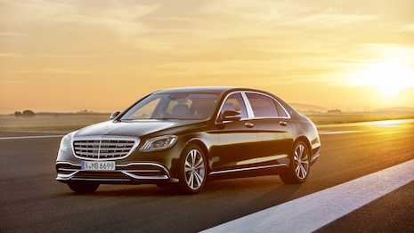 Mercedes-Maybach S-Class. Image credit: Mercedes-Benz