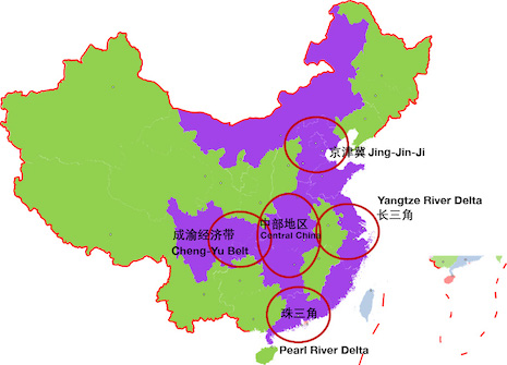 China's affluent populations tend to be concentrated in China's more developed municipalities and provinces. Source: Agility Research & Strategy